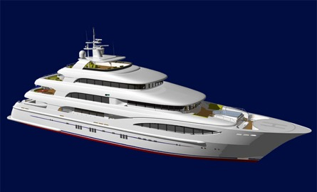 Displacement motor yacht – P986