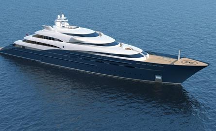 405′ Mega Yacht – P1014