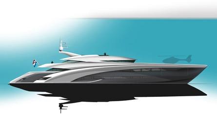 Semi-Planing Motor Yacht 60.00 m – P1079