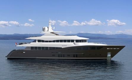 40 m Motor yacht – P1112